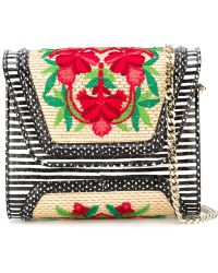 Yliana Yepez - Embroidered Mini 'giovanna' Handbag - Lyst