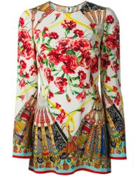 Dolce & Gabbana Short Sleeve T-Shirt - Lyst