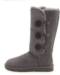Ugg Bailey Triple Button Tall Boot - Lyst