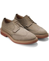 Cole Haan & Todd Snyder Hammond Wing Oxford In Tan - Lyst