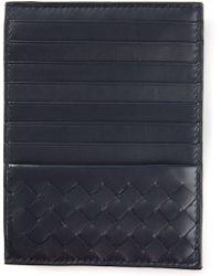 Bottega Veneta Intrecciato Card Holder - Lyst