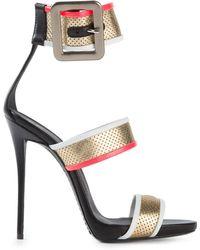 Giuseppe Zanotti Strappy Sandals - Lyst