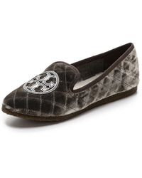 Tory Burch Billy Slippers - Greypewter - Lyst