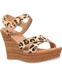 UGG - Jazmine Wedge Heeled Sandals - Lyst