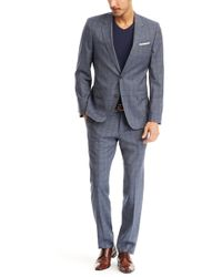 Hugo Boss Huge/Genius | Slim Fit, Super 120 Italian Virgin Wool Suit - Lyst