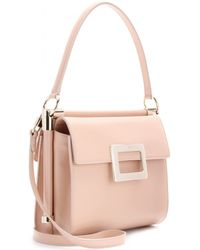 Roger Vivier Miss Viv Leather Shoulder Bag - Lyst