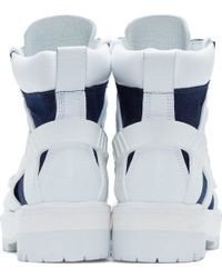 Hood By Air - Indio Denim Avalanche Boots - Lyst