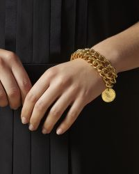 Jaeger - Pearl And Coin Chain Bracelet - Lyst