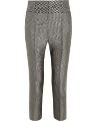 Haider Ackermann Ed Jacquard Tapered Pants - Lyst