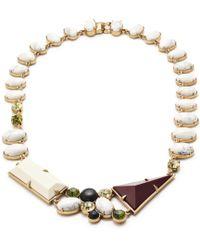 Lulu Frost Geometric Shapes Necklace - Lyst