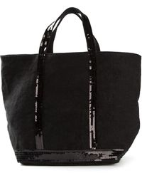 Vanessa Bruno Sequined Shopper Tote - Lyst