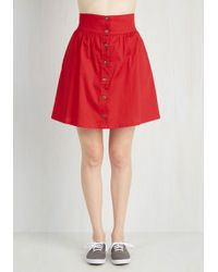 Tropical Wear - Curry Your Enthusiasm Skirt In Cayenne - Lyst