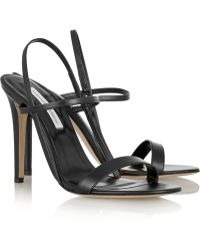 Diane von Furstenberg Ulla Leather Sandals - Lyst