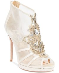 Badgley Mischka Lianna Evening Booties - Lyst
