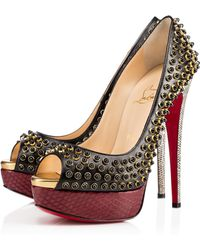 Christian Louboutin Red Lady Cabo - Lyst