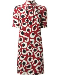 Gucci Silk Dress - Lyst