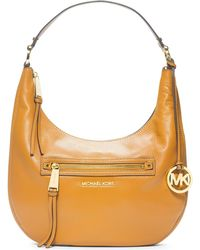 Michael Kors Michael Rhea Zip Medium Shoulder Bag - Lyst