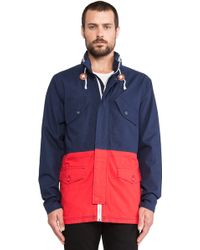 Nixon Blue Pi Jacket - Lyst