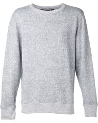 Levi's Gray Pullover Sweater - Lyst
