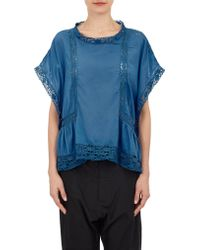 Etoile Isabel Marant Duffy Poncho Top - Lyst