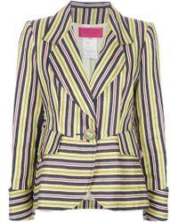 Christian Lacroix Striped Short Suit - Lyst
