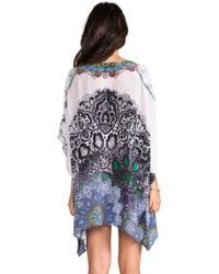 Camilla A Lace Lovers Diary Vneck Kaftan in Lavender - Lyst