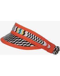 Missoni Mare Knit Covered Visor - Lyst