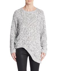 Cameo - Every City Asymmetrical Cable-knit Sweater - Lyst