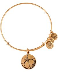 ALEX AND ANI - Granddaughter Expandable Wire Bangle - Lyst