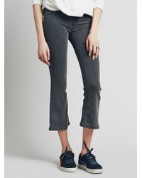 Free People Pull On Cropped Flare - Lyst