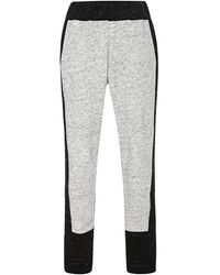 Sea Melange Neoprene Combo Sweatpants - Lyst