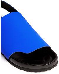 Pierre Hardy | Neoprene Leather Slingback Sandals | Lyst