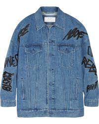 Julien David - + Ambush Embellished Denim Jacket - Lyst