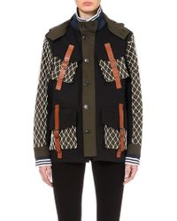 Rodarte Military Canvas Jacket - For Women green - Lyst