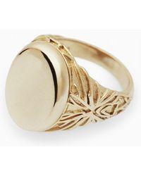 Harlot & Bones Ring - Lyst
