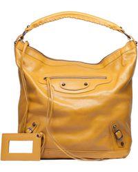 Balenciaga Yellow Classic Day - Lyst