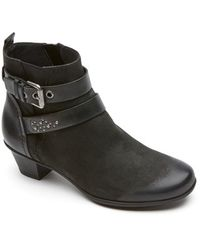 ab8b45e66ce Nordstrom · Rockport - Total Motion - Amy Strap Booties - Lyst