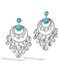John Hardy Palu Chandelier Earrings - Lyst