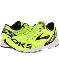Brooks Yellow T7 Racer - Lyst