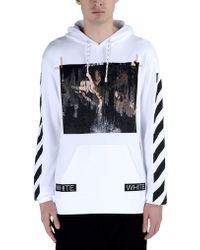 Off White C/o Virgil Abloh Sweatshirt white - Lyst