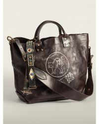 RRL Leather Stillwell Tote - Lyst