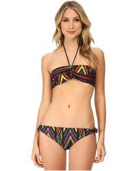 M Missoni Tribal Zig Zag Bikini Swimsuit (Halter Top) - Lyst