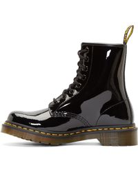 Dr. Martens Black Patent 8_Eye 1460 Boots black - Lyst