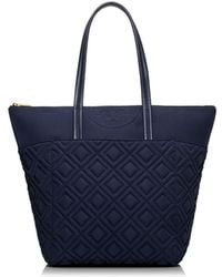 Tory Burch Fleming Nylon Tote - Lyst