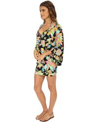 Trina Turk Tahitian Floral Tunic Cover-Up - Lyst