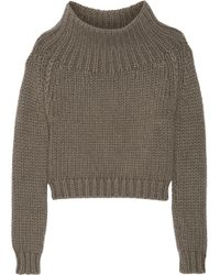 Burberry Prorsum Chunkyknit Cashmere Sweater - Lyst