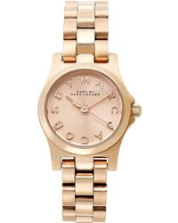 Marc By Marc Jacobs Women'S Dinky Rose Gold Ion-Plated Stainless Steel Bracelet 21Mm Mbm3200 - Lyst