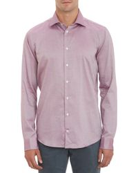 Richard James Iridescent Broadcloth Dress Shirt - Lyst