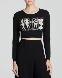 Alice + Olivia Sweater - Cropped Beach Babe - Lyst