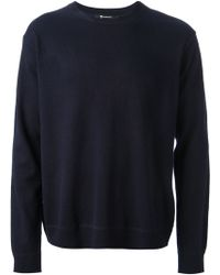 T By Alexander Wang - Crew Neck Sweater - Lyst